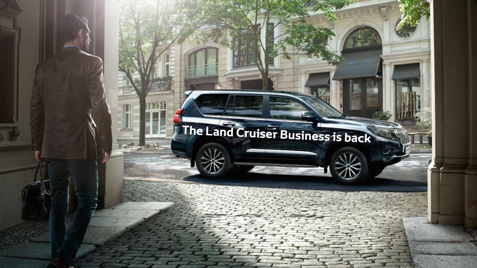 Land Cruiser Business Class re-introduced at €69,995*