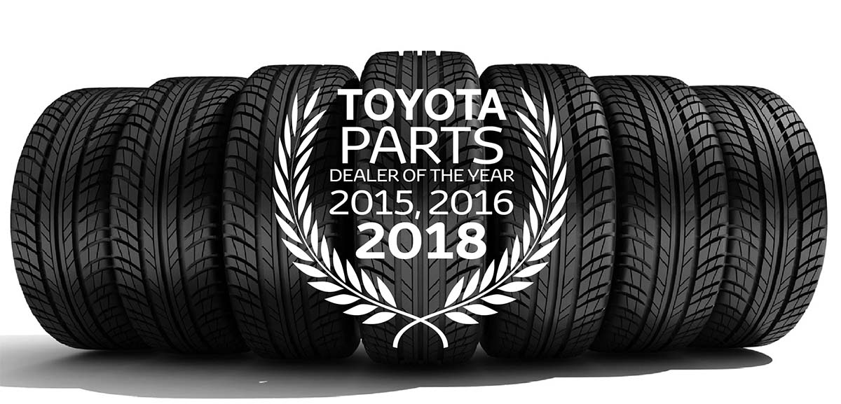 Toyota Parts Dealer of the Year