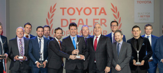 Toyota Ireland Annual Dealer of the Year Awards 2018