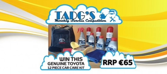 Win a Genuine Toyota Car Care Kit