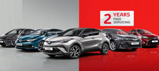 Toyota Plus Sales Event